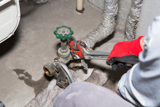 水道配管の取り替え工事