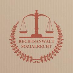 Emblem Rechtsanwalt Sozialrecht