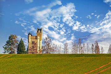 Thiepval . Mémorial Irlandais Ulster - 1ère guerre mondiale. Somme. Picardie. Hauts-de-France
