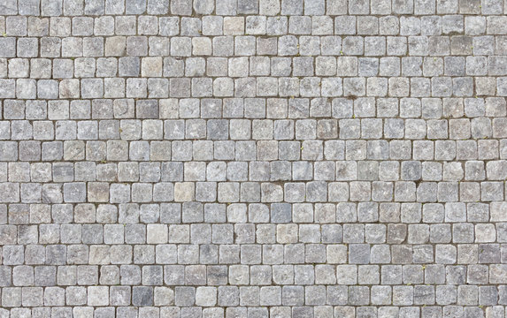 Background of stone floor texture.