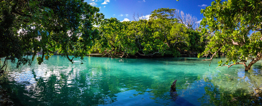The Blue Lagoon, Port Vila, Efate, Vanuatu