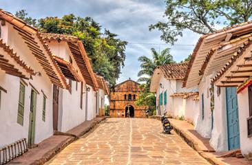 Fotomurales - Barichara, Colombia