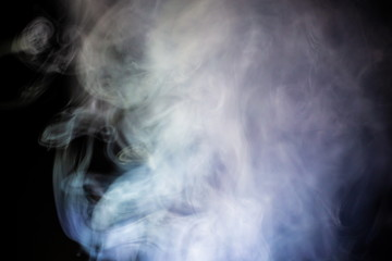 abstract white smoke texture background .