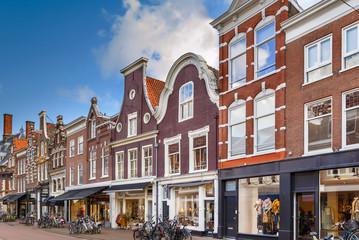 Fototapete - Street in Haarlem, Netherlands
