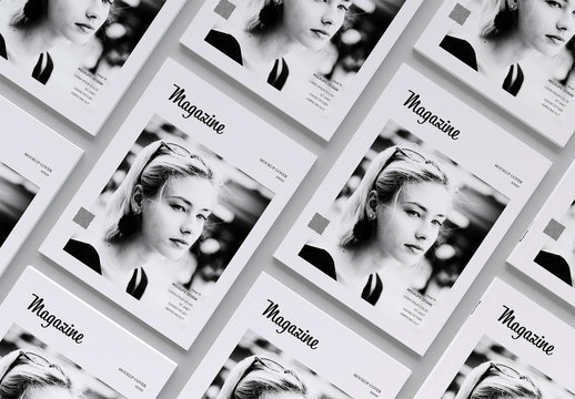 Magazine Covers Mockup