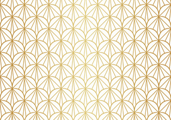 Seamless Art Deco Pattern. Vintage geometric minimalistic background. Abstract Luxury Illustration.