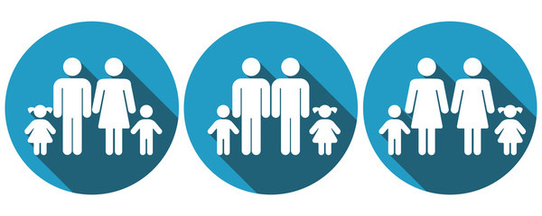 Symbols for different families