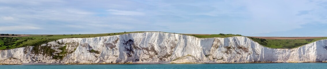 White cliffs of England in Dover, United Kingdom Wall mural