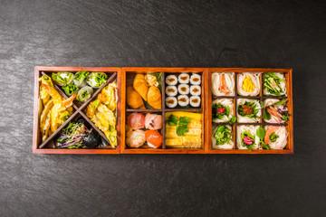 典型的な弁当 japanese Typical lunch box(bento)