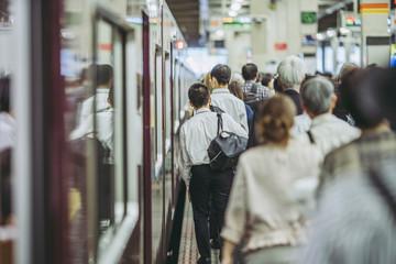 阪急梅田駅・人々