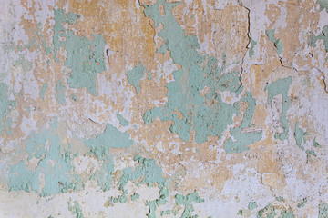 Papiers peints Vieux mur texturé sale Old Weathered Concrete Wall Texture