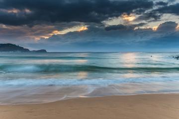 Winter Sunrise Seascape