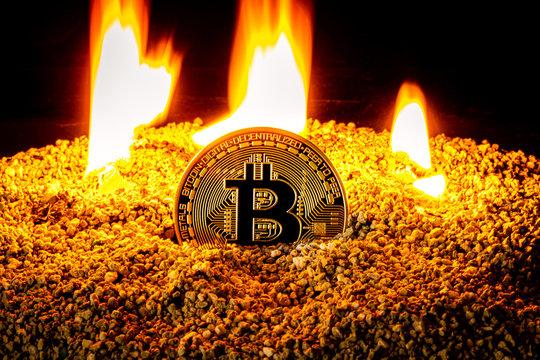 Das Bitcoin Mining brennt