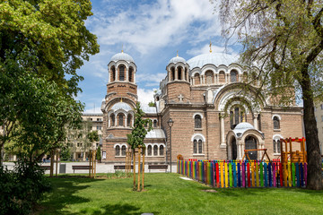 SOFIA BULGARIA DALY LIFE DOWNTOWN