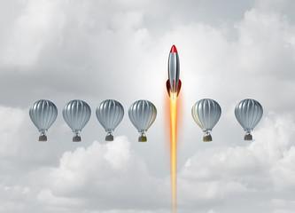 Obraz Business Concept Of Success - fototapety do salonu
