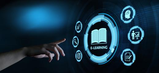 E-learning Education Internet Webinar Online Courses concept