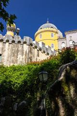 Fotomurales - Pena palace architecture, Portugal, Sintra