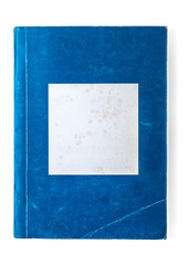 Old Blue Paperback Book