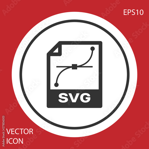 Grey SVG file document icon  Download svg button icon