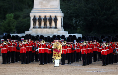 Annual Household's Division Beating Retreat in London