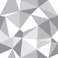 Vector Abstract Triangle Geometrical Grey Background. Suitable for textile, gift wrap and wallpaper.