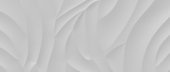 Gray Abstract Background 3D Rendering Wall mural
