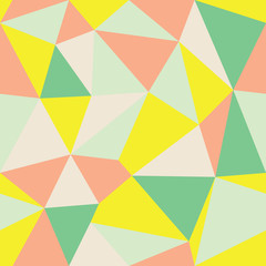 Vector Abstract Triangle Geometrical Multicolored Background Ver2. Suitable for textile, gift wrap and wallpaper.