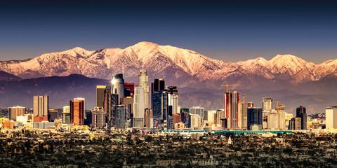 Fototapete - Los Angeles Skyline