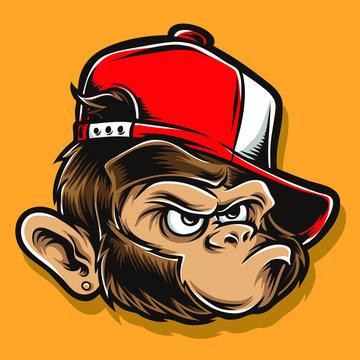 funky ape cartoon