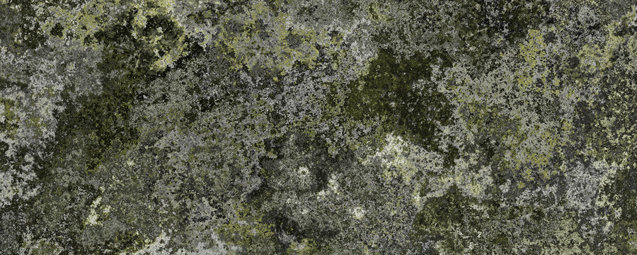 3d material green mossy walls background