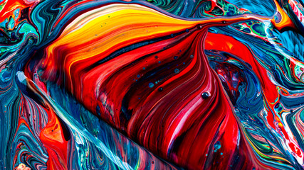 Art of acrylic color abstract background
