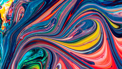 Beautiful acrylic color abstract background Fotoväggar