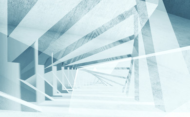 Abstract digital interior background