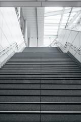Keuken foto achterwand Trappen Stair in modern city