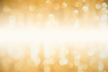 luxury golden blur bokeh abstract for background