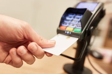 Contactless Payment with NFC credit card