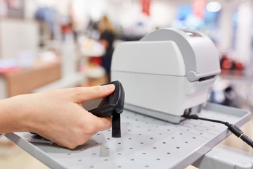 Person in contactless payment