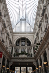 shopping mall in the center of the city of The Hague named Passage