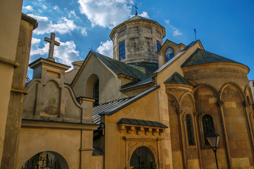 The Armenian Cathedral of the Assumption of Mary in Lviv, Ukraine