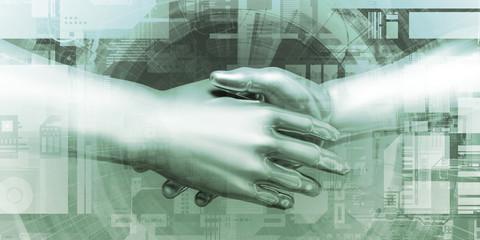 Virtual Hand Shake
