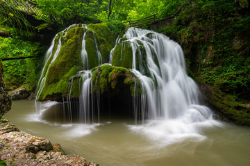 Bigar Waterfall,Caras-Severin,Romania,Located at the intersection with the parallel 45 in Romania