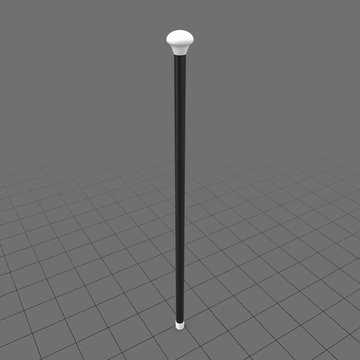 Cabaret dance cane stick