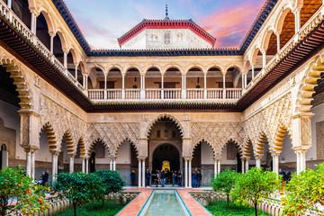 Real Alcazar de Séville en Andalousie, Espagne