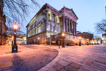 The Harris Museum, Art Gallery & Preston Free Public Library is a Grade I-listed museum building in Preston, Lancashire UK.
