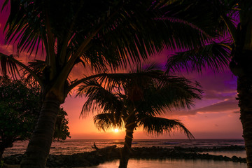 Glorious Kaua'i Sunrise in Hawaii