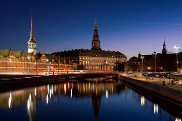 Foto auf Gartenposter Skandinavien Copenhagen city view at Christianborg Palace