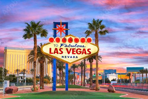 Fototapete Las Vegas Welcome Sign
