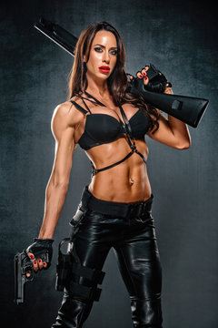 Dangerous Beautiful Woman With Guns, Action Hero