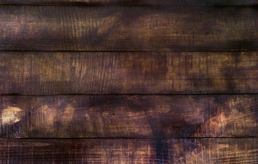 Background of old dark wood planks