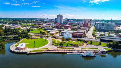 Montgomery Alabama Drone Skyline Aerial Fotomurales
